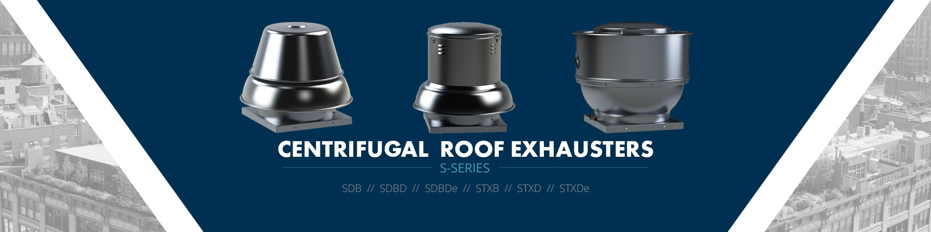 Centrifugal Roof Exhausters